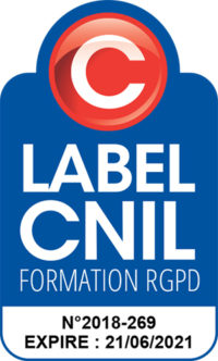 Logo CNIL label - RGPD